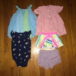 Toddler girl bundle of clothes
